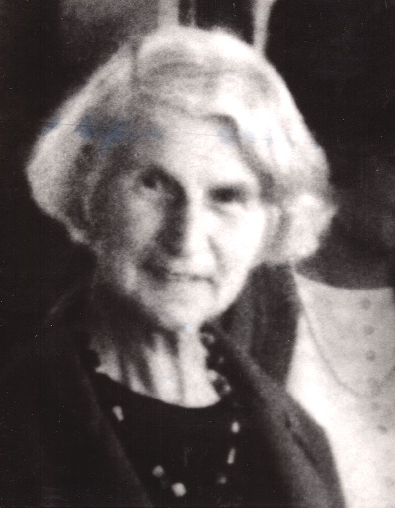 Photograph of Marjorie Allen