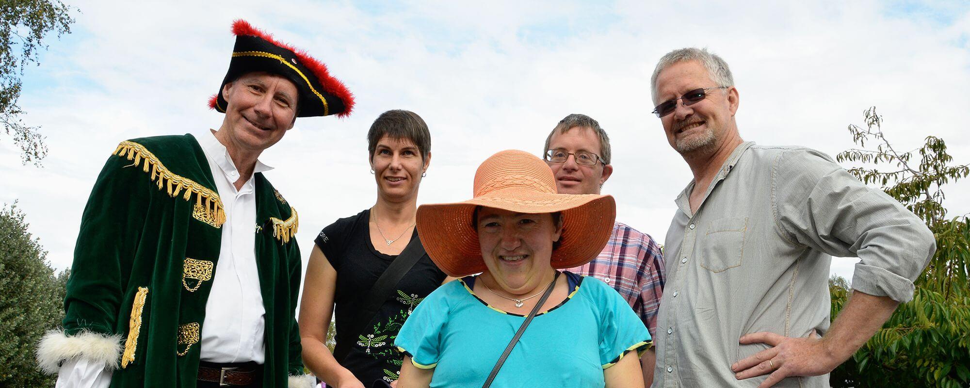 Hohepa staff at the Fair